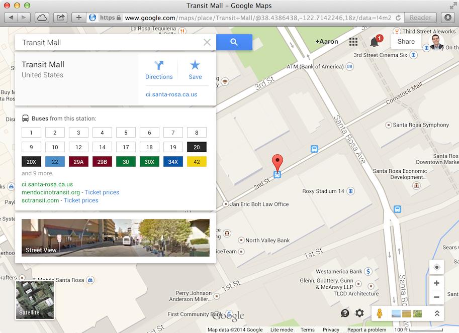 Transit stop icons Feature Google Maps Trillium Support